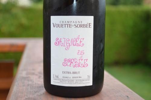vouette et sorbée,champagne,aube,bertrand gautherot,rosé