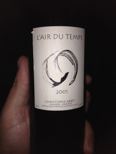 vendredis du vin,christophe abbet,l'air du temps