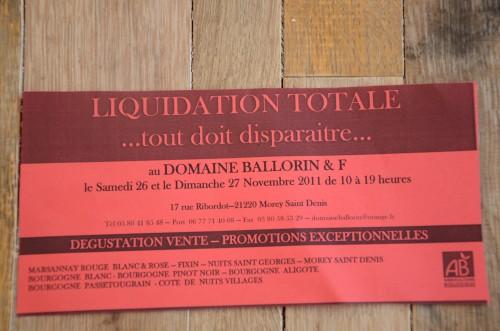 ballorin,domaine ballorin & F,gilles ballorin,bourgogne,morey-saint-denis,