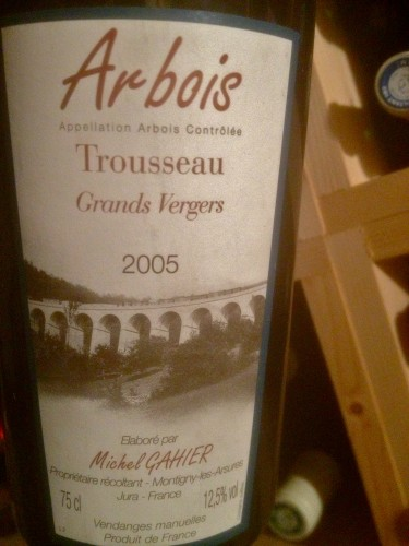vendredis du vin,arbois,michel gahier,les grands vergers